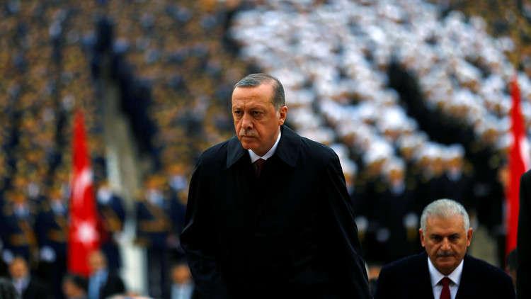 أردوغان يودّع خاله