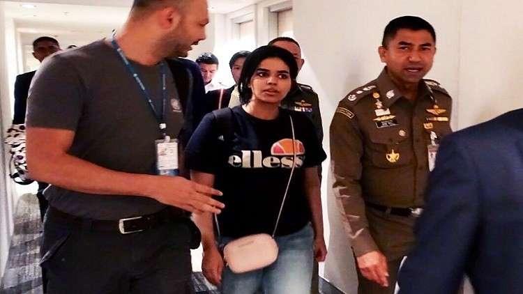وصول والد رهف السعودية وشقيقها إلى بانكوك.. وأستراليا تبحث طلب لجوئها