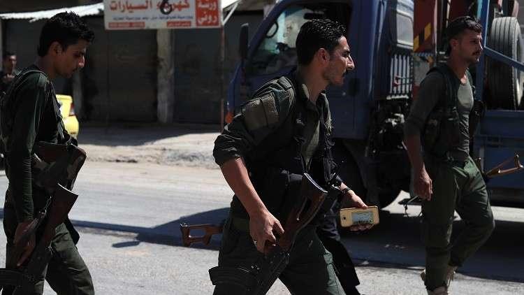 أفراد من قوات الأسايش في كردستان العراق