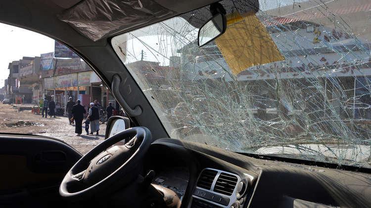 انفجار سيارة مفخخة في تكريت - أرشيف