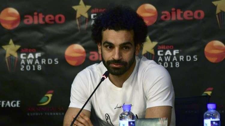 النجم المصري صلاح يتوج بجائزة أفضل لاعب إفريقي 2018 (فيديو)