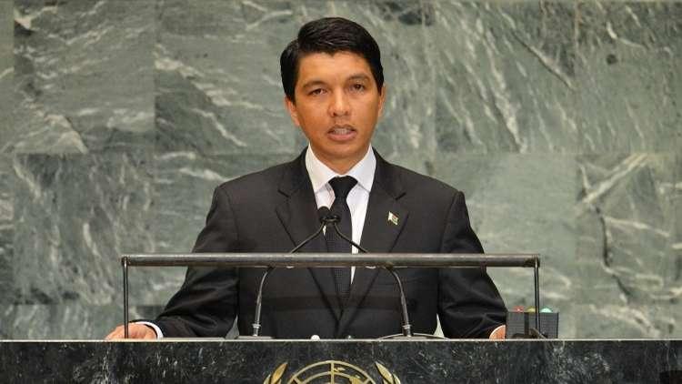 مدغشقر تعلن فوز راجولينا بولاية رئاسية جديدة