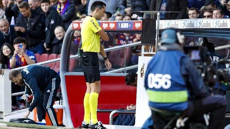 ريال مدريد مستاء من طريقة الاستعانة بتقنية الفيديو