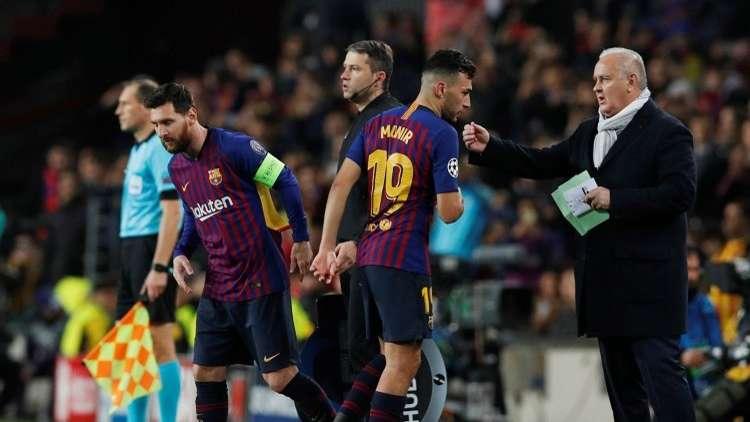 وكيل منير الحدادي ينتقد برشلونة