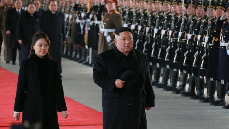 زعيم كوريا الشمالية يمضي عيد ميلاده في الصين