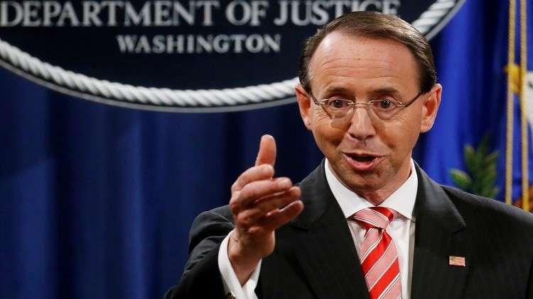 توقعات برحيل المسؤول الثاني في العدل الأمريكية