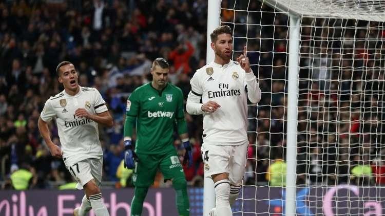 ريال مدريد ينتقم من ليغانيس