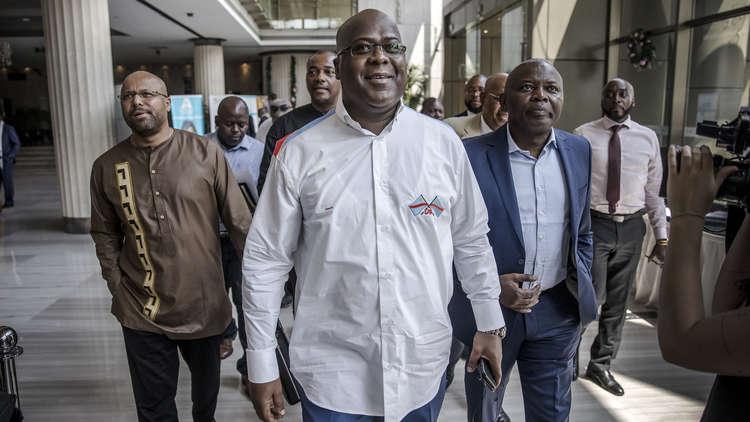 فوز مرشح المعارضة بالانتخابات الرئاسية في الكونغو الديموقراطية