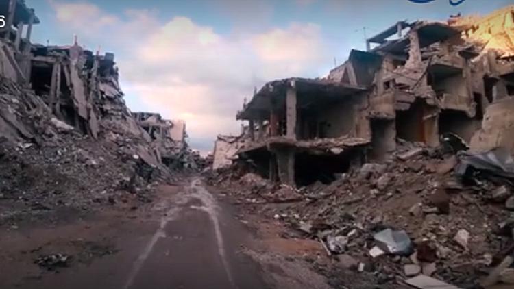 أطلال يوم القيامة.. مشاهد من جنوب دمشق!