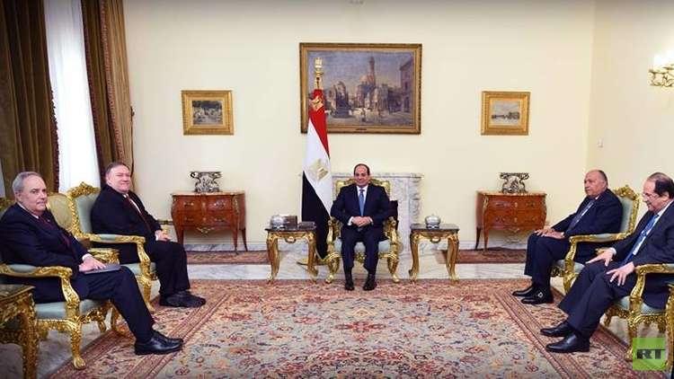 بومبيو يشيد بالحريّة الدينية في مصر