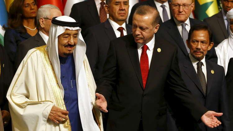 بلومبرغ: لدى أردوغان أسباب بملياري دولار لشكر السعودية