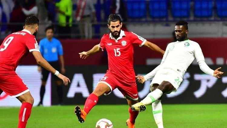شاهد .. أهداف مباراة السعودية ولبنان
