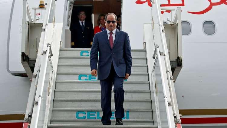 السيسي يتوجه الأحد إلى الأردن للقاء الملك عبد الله الثاني
