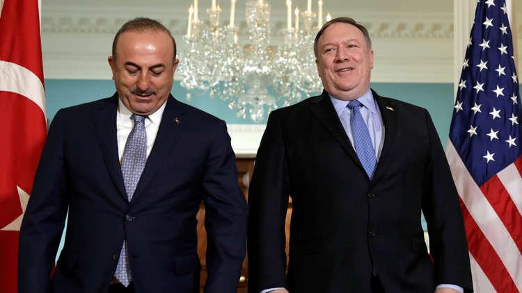 بومبيو يؤكد لتشاووش أوغلو تمسك واشنطن بأمن حلفائها في سوريا