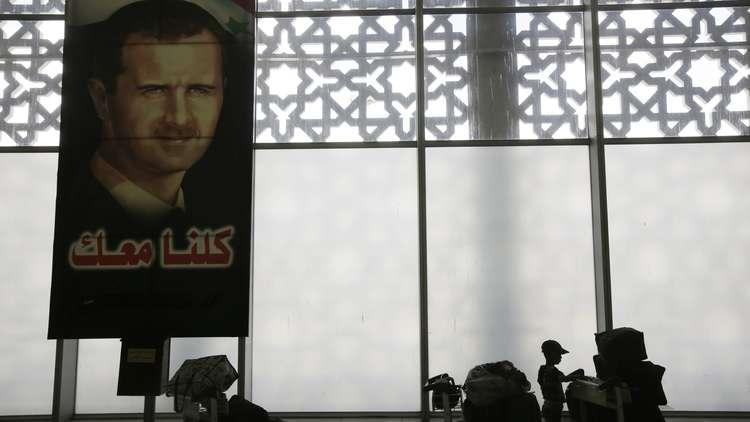 وفود خليجية تزور مطار دمشق تمهيدا لاستئناف الرحلات
