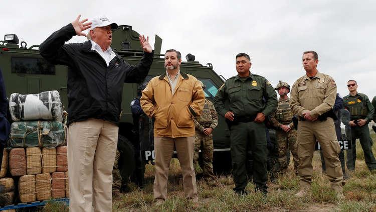 خلال اجتماع مع مسؤولين في تكساس.. ترامب يرتكب خطأ فادحا