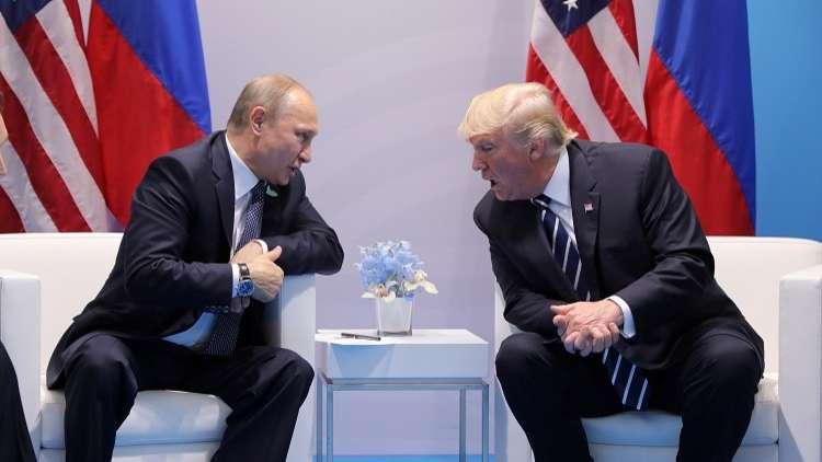 ترامب ينفي إخفاءه محاضر اجتماعاته مع بوتين ومجلس النواب ينوي عقد جلسات استماع حول هذا الأمر