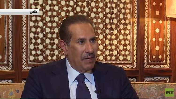 حمد بن جاسم يتحدث في مقابلة مع RT عن في سوريا والأزمة الخليجية والعلاقات العربية مع إسرائيل