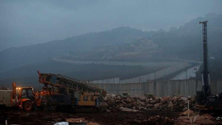 الحدود بين لبنان وإسرائيل، 19 ديسمبر 2018