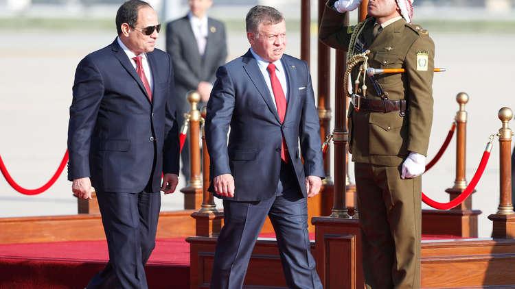 الأردن ومصر يتفقان على تزويد المملكة بنصف احتياجاتها من الغاز الطبيعي