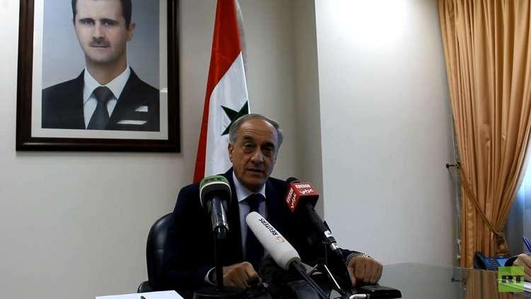 سوريا: نرحب بعودة السفارات لكننا لن نستجدي عودة أحد