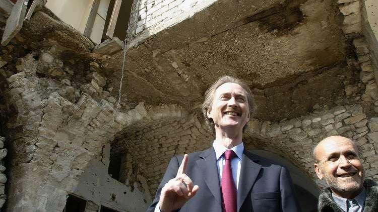 المبعوث الأممي الجديد إلى سوريا يصل دمشق