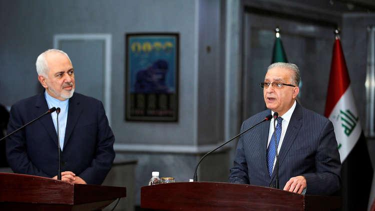 وزير خارجية العراق: ناقشنا مع ظريف دعم جهودنا لإعادة سوريا للجامعة العربية