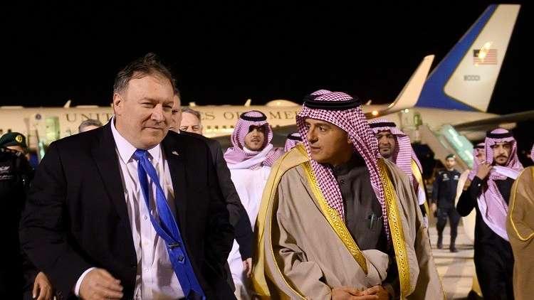 بومبيو في الرياض للحث على محاسبة قتلة خاشفجي