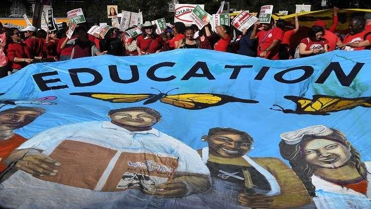 المدرسون يستعدون لأول إضراب منذ 30 عاما في لوس أنجلوس