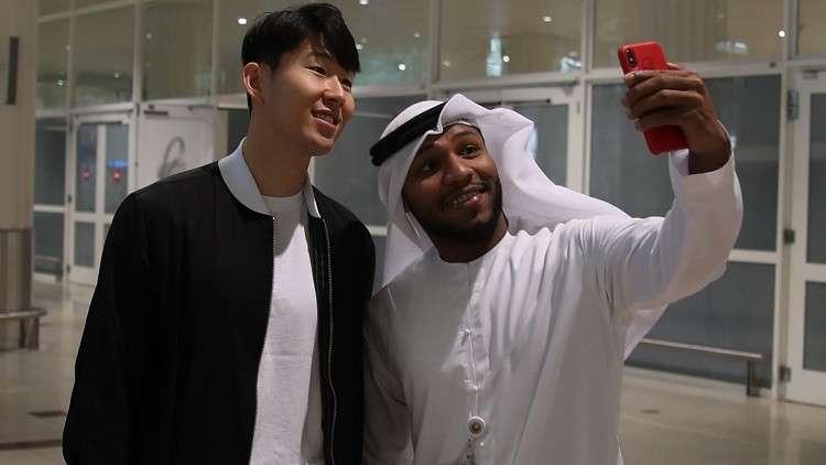 شاهد.. استقبال حافل لسون في الإمارات