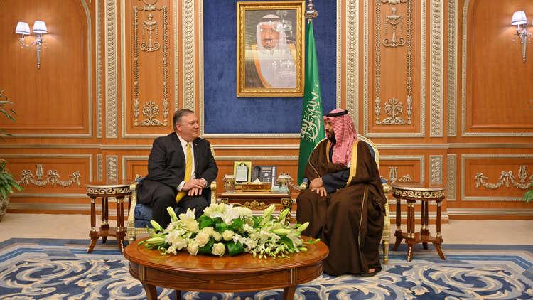 بومبيو: بحثت مع القادة السعوديين التحقيق والإجراءات القانونية في قضية خاشقجي