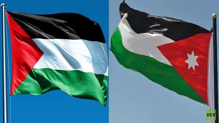 العلم الفلسطيني بدلا من الأردني في شوارع بغداد ترحيبا بالملك عبد الله الثاني (صور)