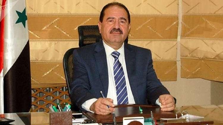 وزير النقل السوري على حمود