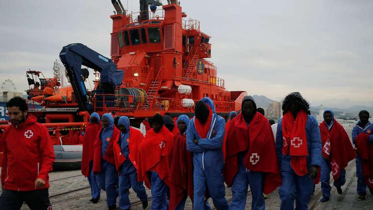 وصول أكثر من ألفي مهاجر إلى أوروبا منذ بداية العام الجاري