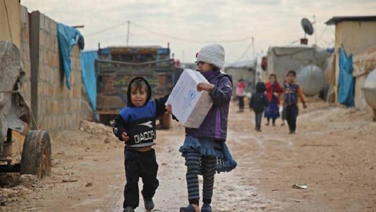 وفاة 15 طفلا سوريا في مخيم الركبان بسبب البرد