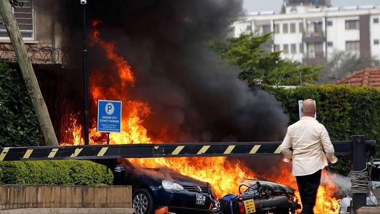7 قتلى في انفجارين وإطلاق نار بالعاصمة الكينية نيروبي وحركة الشباب تتبنى