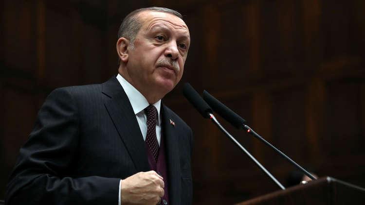أردوغان: سنتخذ قريبا خطوات ضرورية للحفاظ على وحدة أراضي سوريا