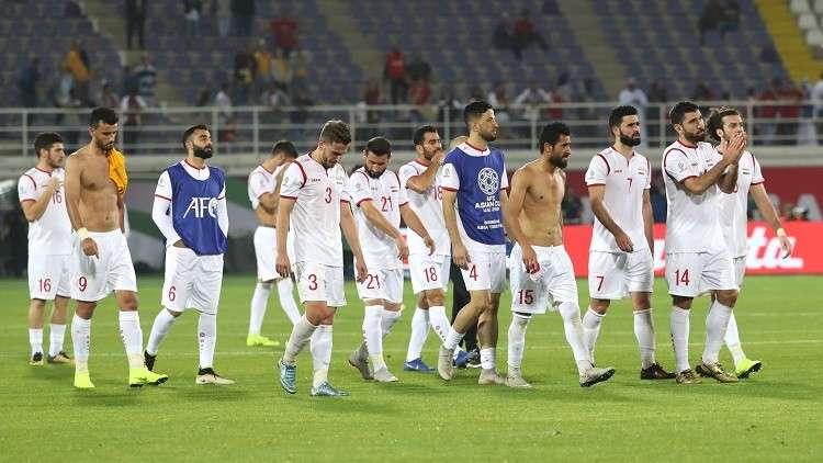 سوريا تودع كأس آسيا بخسارتها أمام أستراليا بهدف قاتل