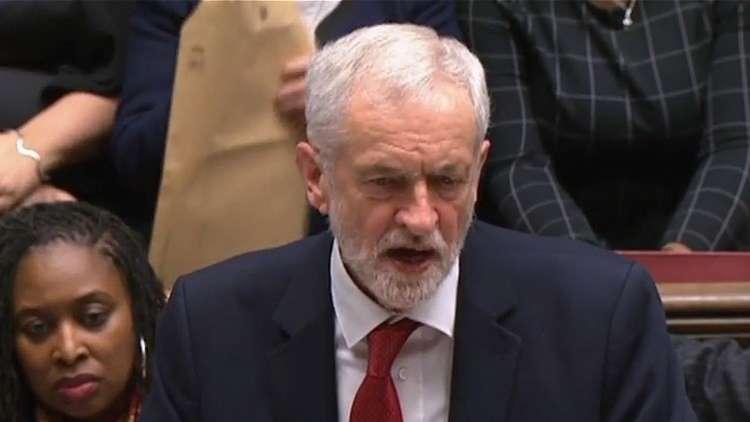 زعيم حزب العمال البريطاني: مناقشة حجب الثقة عن الحكومة غدا