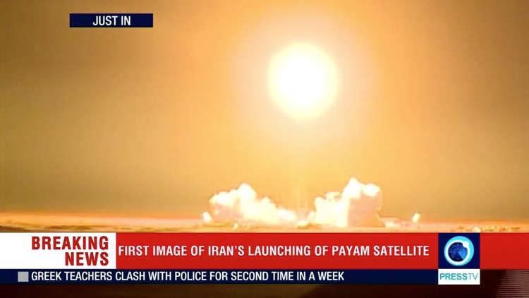 بومبيو يتهم إيران بانتهاك القرار الدولي بسبب إطلاقها قمرا صناعيا