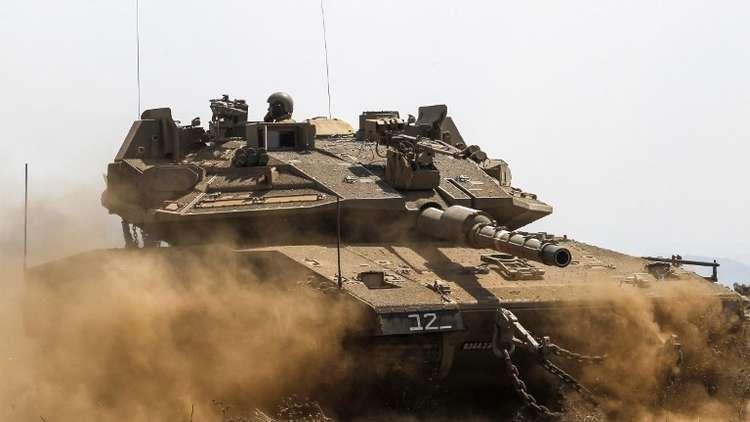 دبابة إسرائيلية كادت أن تتسبب في كارثة!