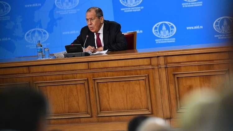 لافروف يكشف أولويات السياسة الخارجية الروسية عام 2019