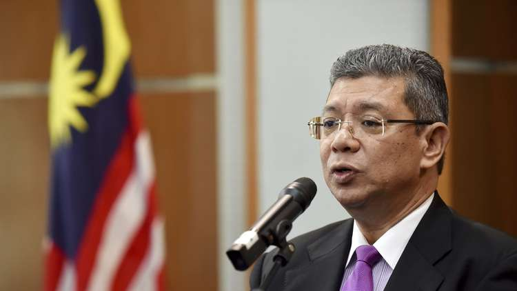 وزير الخارجية الماليزي سيف الدين عبد الله