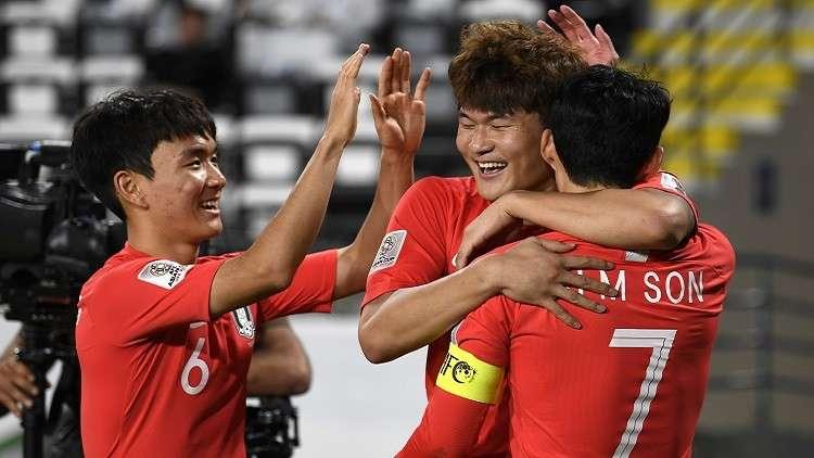 كأس آسيا.. كوريا الجنوبية تتغلب على الصين وتنتزع صدارة المجموعة الثالثة