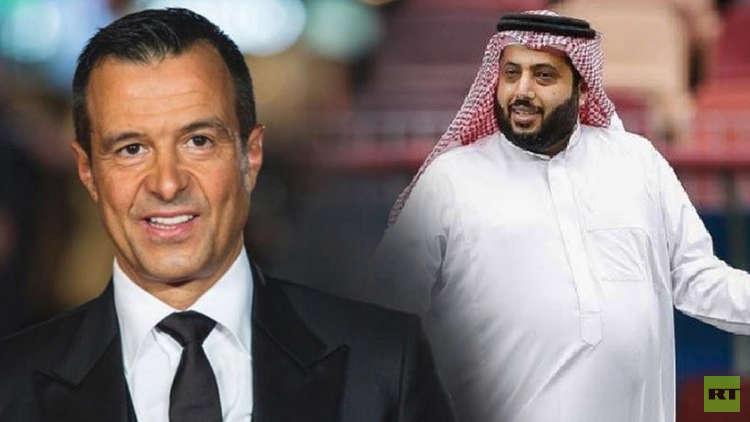 تركي آل الشيخ يقترب من إبرام صفقة نارية مع وكيل كريستيانو رونالدو