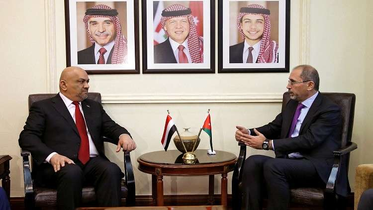 وفد الحكومة اليمنية يناقش في الأردن آلية تنفيذ اتفاقية السويد