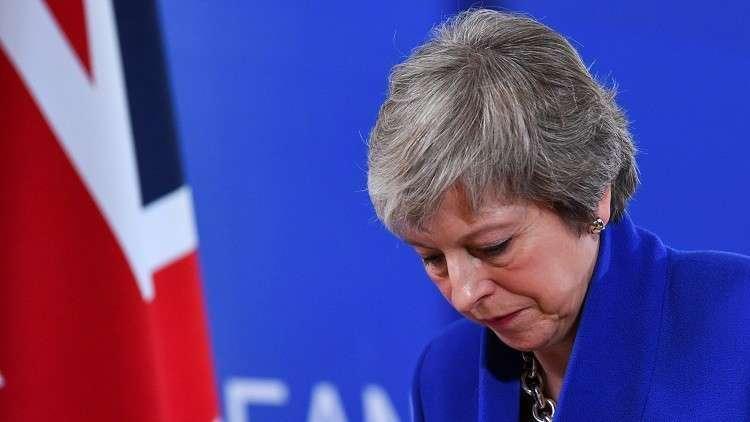 رئيسة الوزراء البريطاينة تيريزا ماي