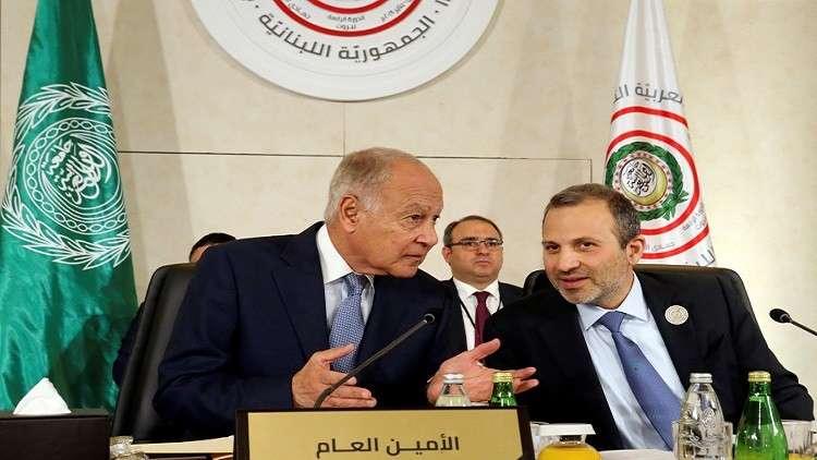 أبو الغيط يدعو لحل الأزمة بين ليبيا ولبنان