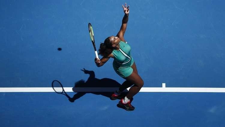 سيرينا تواصل تألقها في بطولة أستراليا المفتوحة