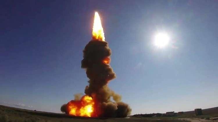 اختبار صاروخي روسيا - ارشيف